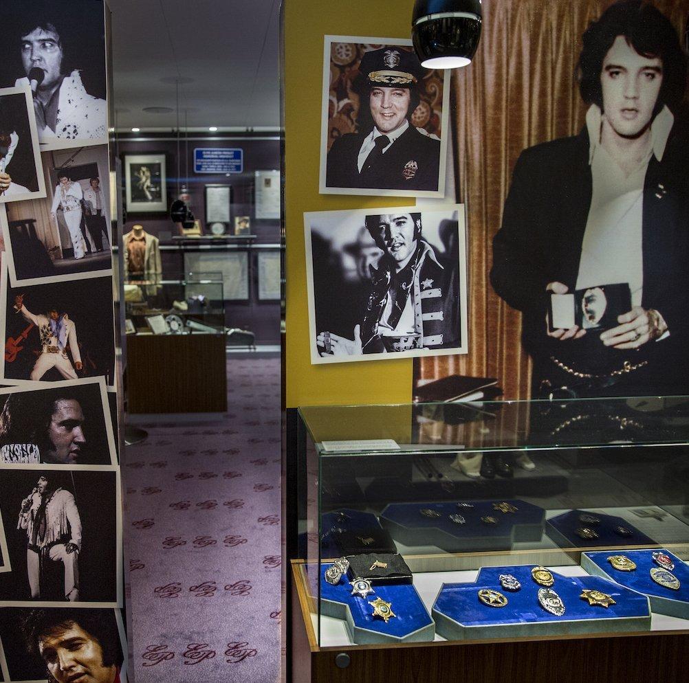 Rundvisning i Elvis Museet