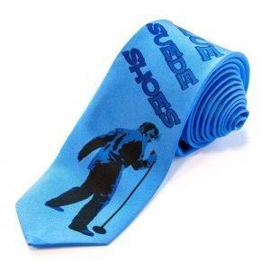 Slips - Blue Suede Shoes|||Slips med TCB motiv